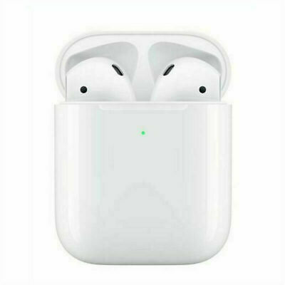 HOT Refurbished For AirPods 2nd Generation with Wireless Charging Case - Used