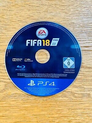Sony PlayStation 4 (PS4) Game FIFA 18 - Excellent Condition - Disc Only