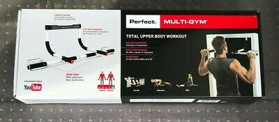 Perfect Fitness Multi-Gym Doorway Pull Up Bar Portable Gym System - Ships ASAP!