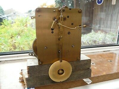 Perivale Clock Movement + Pendulum - Working