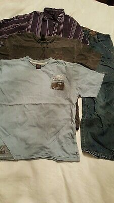 Boys Aged 8 Next Tops And Jeans Bundle