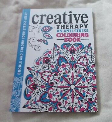 Adults / Kids Colouring Book - Creative Therapy - Anti-Stress Colouring Book - N