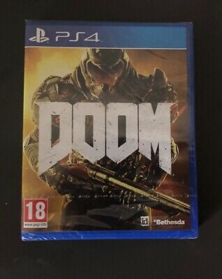 Doom Ps4 Game - Brand New Sealed - Sony Playstation 4 2016