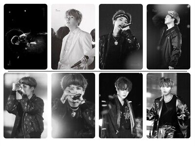 16PCs/set KPOP BTS Bangtan Boys Photo Cards Suga/Yoongi Ver.