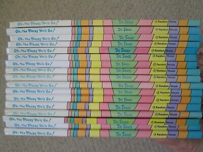 OH THE PLACES YOU'LL GO~Dr. Seuss~GUIDED READING LOT 17~