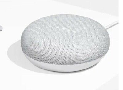 Google Mini Google Personal Assistant - CHALK -  (Opened)