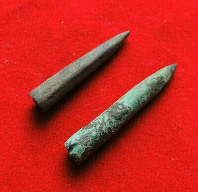 Ancient Bronze Rare Celtic Arrows