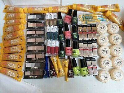 JOBLOT x 75 BRANDED COSMETICS NAIL LOREAL MAYBELLINE ESSIE BOUJOIS CND FREDA