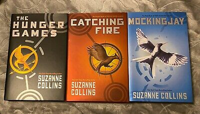 NEW! NICE! Hardcover The Hunger Games Trilogy the Complete Series Set of 3 Books