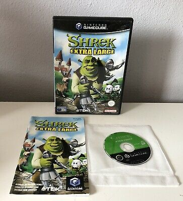 Juego SHREK EXTRA LARGO Nintendo Game Cube Gc Pal Gamecube COMPLETO