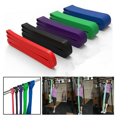 GYM Latex Exercise Bands Resistance Elastic Band Pull Up Assist Bands Fitness