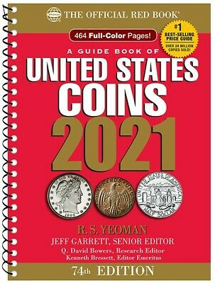 2021 Official Red Book Price Guide Of United States Coins, Spiral