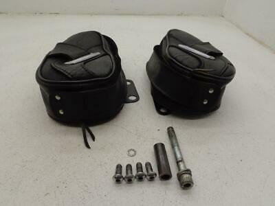 1984-1999 Harley Davidson Softail RIGHT LEFT TOOL POUCH MOUNT LOGGERHEAD