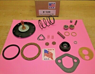 1930-36 CHRYSLER DESOTO DODGE PLYMOUTH FUEL PUMP KIT AC 419 425 587 ETHANOL SAFE