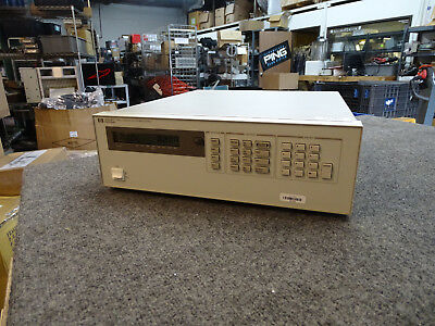 HP Agilent Keysight 6621A System DC Power Supply from Calibration Lab