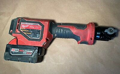 Milwaukee M18 2674-20 Short Throw Press Tool With Red Lithium CX5.0 Battery