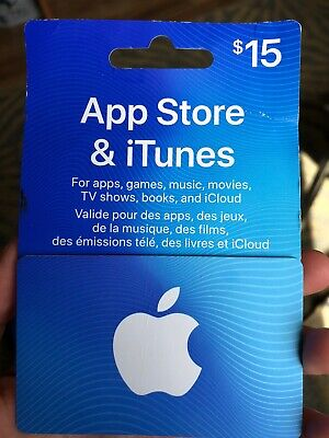App Store & iTunes Gift Card - $15 Canada