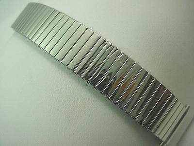 "JB Champion Vintage 17.5mm-21mm 11/16""-3/4"" Mens Watch Band Expansion Stainless"