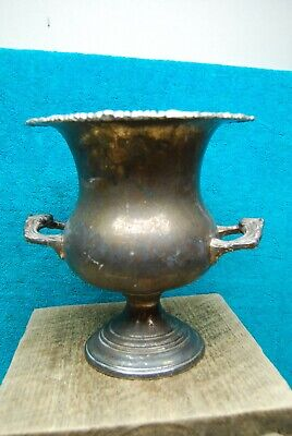 Vintage Silverplate double-handle Vase / Urn Sheridan silversmith co