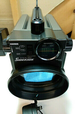 "Vintage Sharp 3T-50A ""Sidekick"" Portable Black & White TV. Working! From Estate."