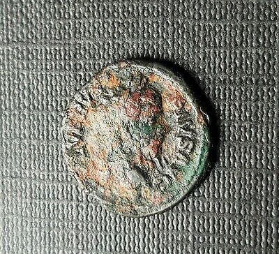 #e603# Roman limes denarius coin of Septimius Severus from 210 AD