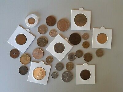 Bulk lot of World coins and token