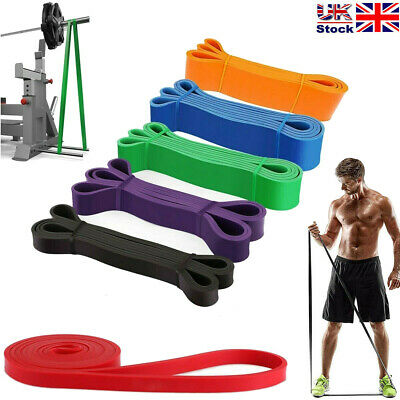Resistance Exercise Bands Natural Latex Exercise Yoga Set Heavy Duty Booty Bands