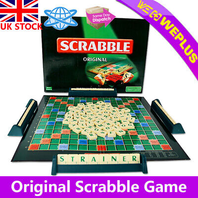 Original Scrabble Board Game Family Kids Adults Educational Toys Puzzle Games UK