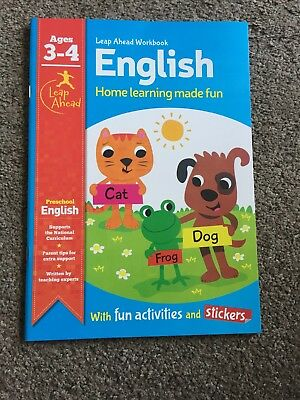New English Workbook Ages 3-4
