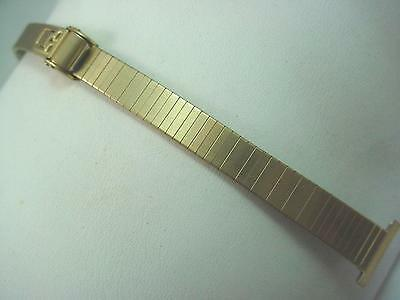 JB Champion 14mm Ladies Vintage Watch Band Rolled Gold Sliding Clasp New Old Stk