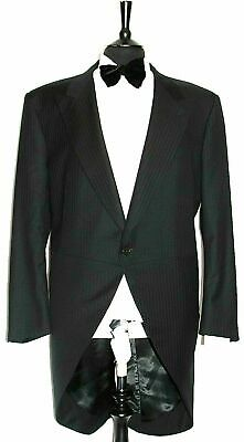 MEN'S GIEVES & HAWKES No1 SAVILE ROW MORNING COAT WEDDING SUIT 50R W44 X L32