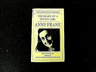 Anne Frank : The Diary Of A Young Girl Otto H. Frank 1997-Sc/Very Good Condition