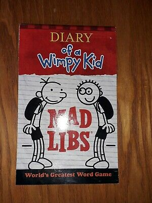 Diary Of A Wimpy Kid, Mad Libs