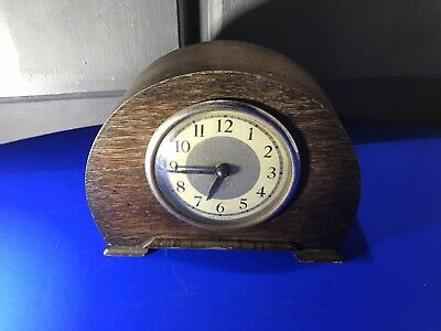 Vintage Small Mechanical Mantle Clock