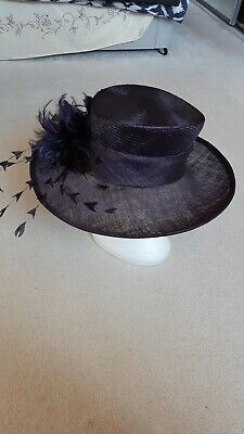 LARGE J.BEES Millinery purple Mother of the Bride,Wedding ,Ascot Races,Hat