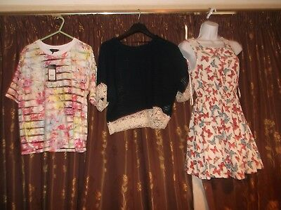 Ladies 18 Item Clothes Bundle All Bnwt Tu,Miso,Newlook & More Uk10 Tops,Dresses