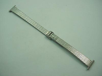 JB Champion Vintage Ladies Watch Band 14mm Stainless Steel Sliding Clasp NOS
