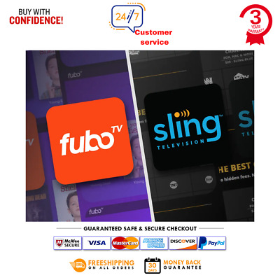 SlingTV Orange And Blue + Extra addon 36 Months Warranty Fast Delivery & Support