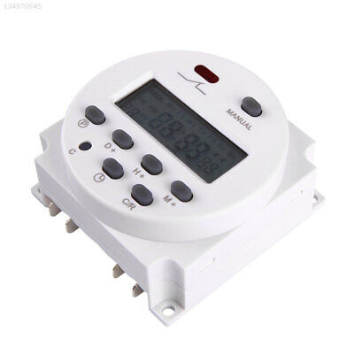 12V 16A LCD Display Power Programmable Timer Relay Switch for Light Water Pump