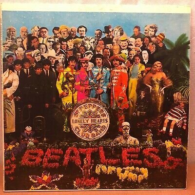 The Beatles SGT. Peppers Lonely Hearts Club Band LP Vinyl Record .99 Bid Start!