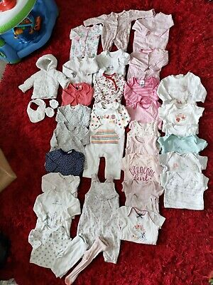 Baby Girls Bundle #35 0-3 Months First Size F&F GEORGE NEXT MOTHERCARE