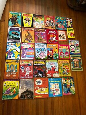 children's Activity lot THINGS TO DO Little People GOLDEN family books 29 titles