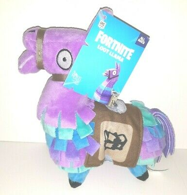 Fortnite Loot Llama Plush Purple Blue NEW by Russ