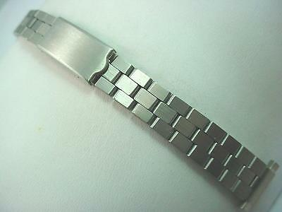 "Speidel Stainless Ladies Vintage Watch Band Deployment Clasp 12mm-16mm 1/2""-5/8"""