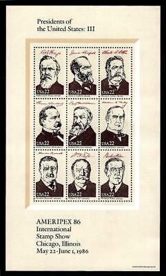 """1¢ Wonder's ~ Mnh Souvenir Sheet W/ """"Presidents Of The United States Iii"""" ~ S76"""