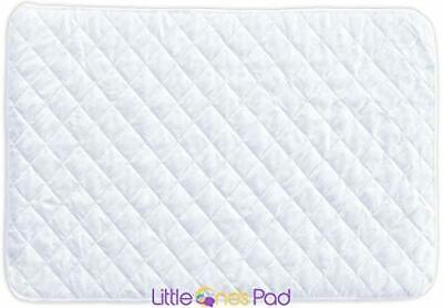 "Little One's Pad Pack N Play Crib Mattress Cover - 27"" X 39"" - Fits Most Baby"