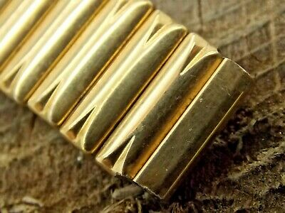 JB Champion Vintage Gold Filled Expansion Watch Band 14mm Ladies Pre-Owned