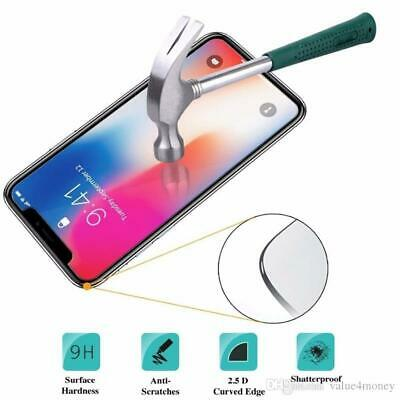 Screen Protector For Apple iPhone X XR XS  - 100% Genuine Tempered Glass
