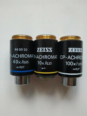 Carl Zeiss Microscope Lens
