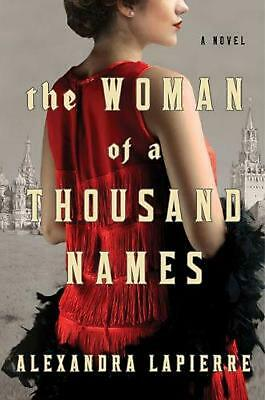 The Woman of a Thousand Names by Alexandra Lapierre (English) Hardcover Book Fre